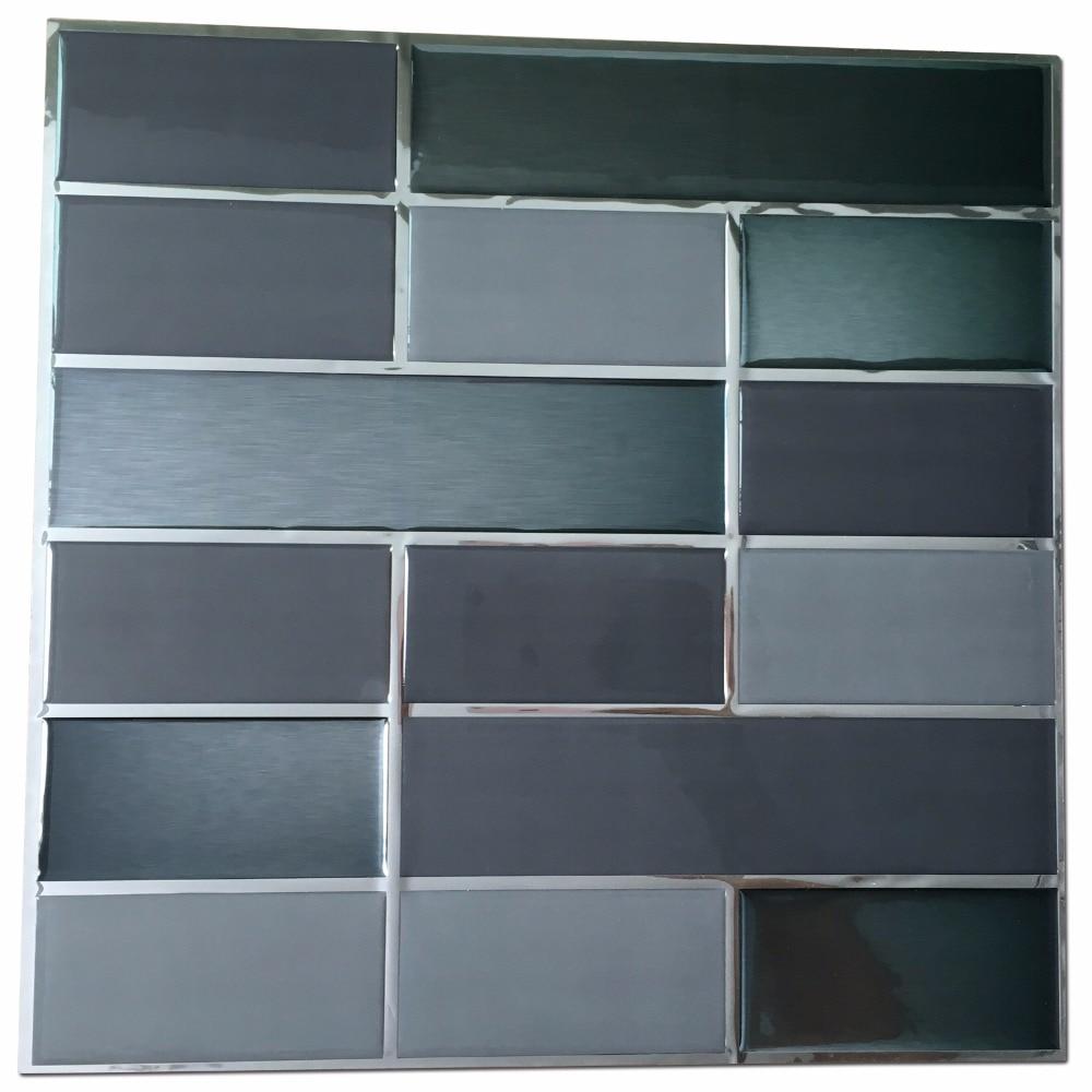 online get cheap smart tiles aliexpress com alibaba group brick smart backsplash tiles for kitchen 6 pieces peel and stick tiles china