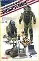 Meng modelo 1/35 HS-003 eua especialistas de eliminação de explosivo e robôs