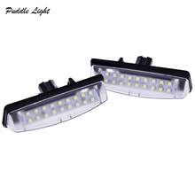 2xNO Error Led number plate lamps For Lexus IS200 IS300 LS430 GS300 GS430 GS400 ES300 ES330 RX330 RX350 Car Lighting Replacement front rear left right 4 sides door lock actuator for lexus rx300 gs300 gs430 gs400 toyota prius