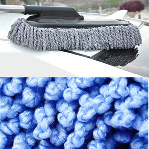 Image 5 - Car Special Wax Tow Cleaning Mop Tweezers Soft Hair Retractable Water Long Handle Dust Removal Car Wash Brush