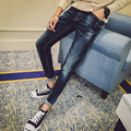 New Arrival Men's Casual Skinny Jean Slim Regular Fit Straight Leg Jeans Pants For Male H093