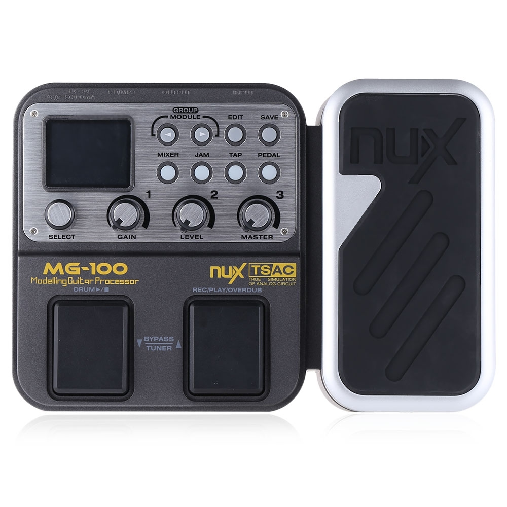 New Musical Instruments MG-100 MG100 13 Classic Amp Models Processor Multi-functional Modeling Guitar Processor Effect Pedal wavelets processor