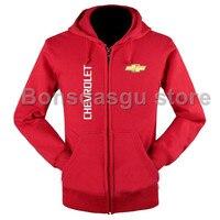 High Quality Chevrolet Logo Zipper Hooded Sweatshirt For Women And Men S Zipper Hoodie Casual Brand