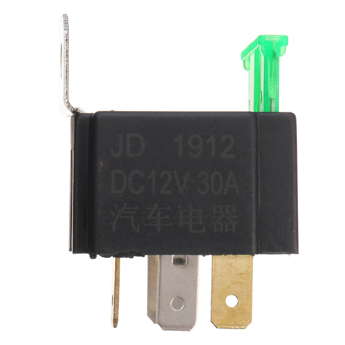 small resolution of dc 12v on off 4 pin relay 30 amp fuse base box holder bracket fog