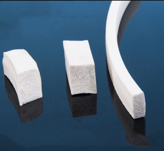 3mm 4mm 5mm 6mm 8mm 10mm square white silicone foaming strip for sealing rectangle silicone foaming sealing strip