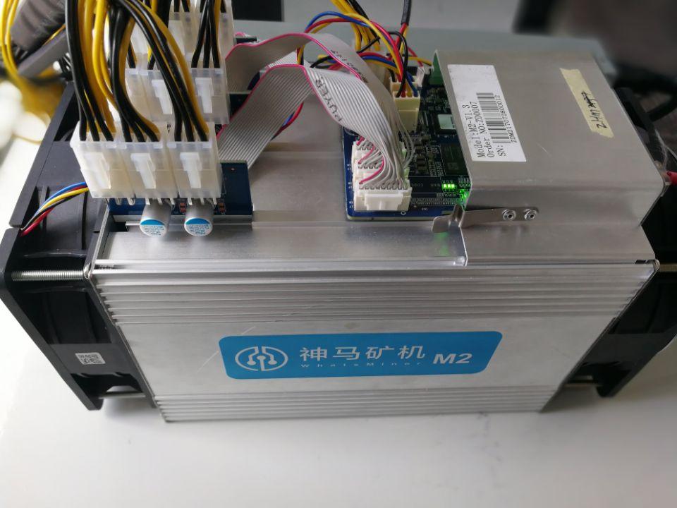 Verwendet Whatsminer M2 9.3TH/s Bitcoin und Bitcoin bargeld Miner mit Normalen power liefern gute qualität