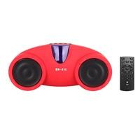 New Remote Control Bluetooth Speaker Wireless Hands Free Loudspeaker Box Dustproof FM Transmitter Support Voice Prompt
