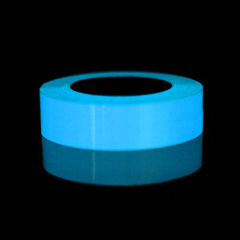 1.5/2/3/4/5cm*1m 3 Color PVC Luminous Tape Self-adhesive Tape Night Vision Glow In Dark Safety Warning Security Stage Home Decor