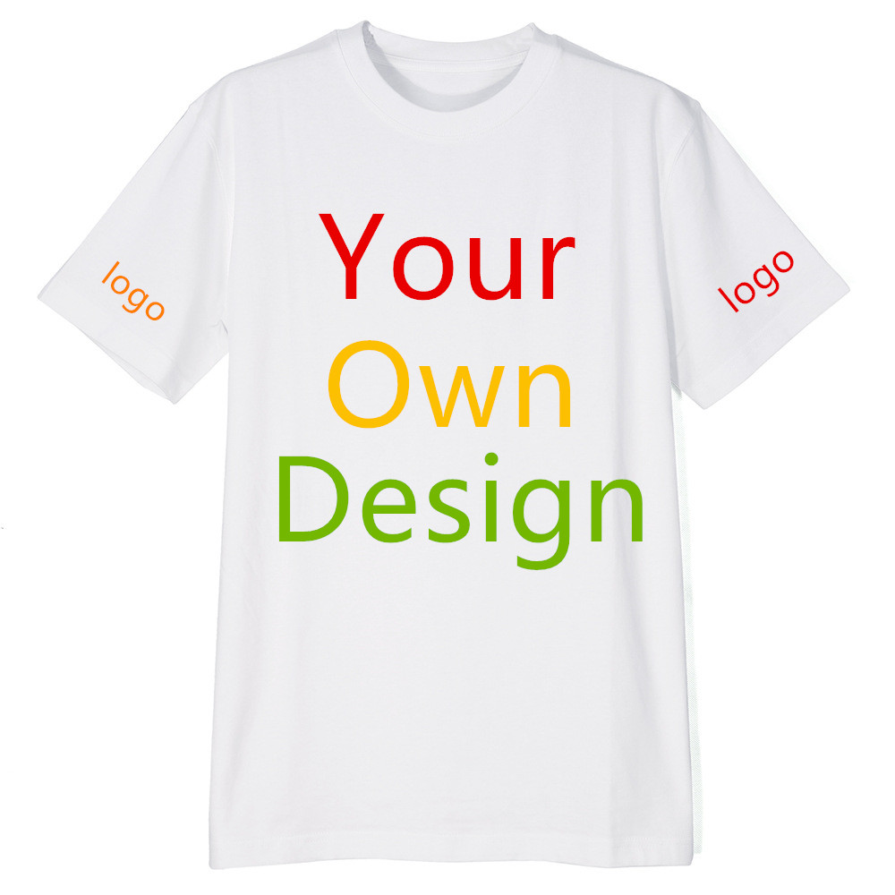 Custom T Shirt Personalized Tee Add Your Design Logo Image Picture