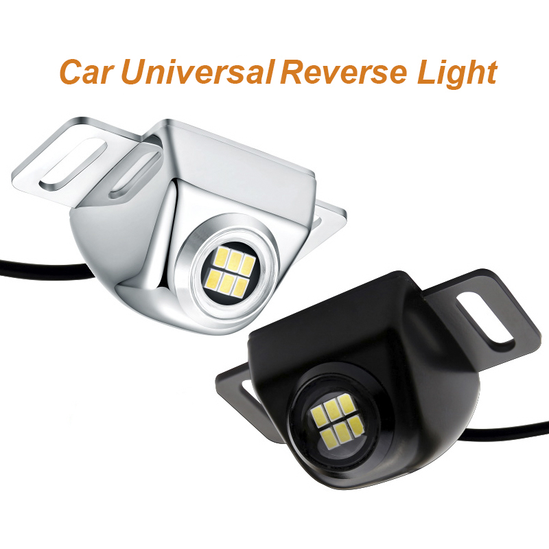 1pc Universal Car Reverse Lights additional backup 6000K White Canbus For Honda Toyota Nissan Volkswgen Kia Benz BMW SUV Truck