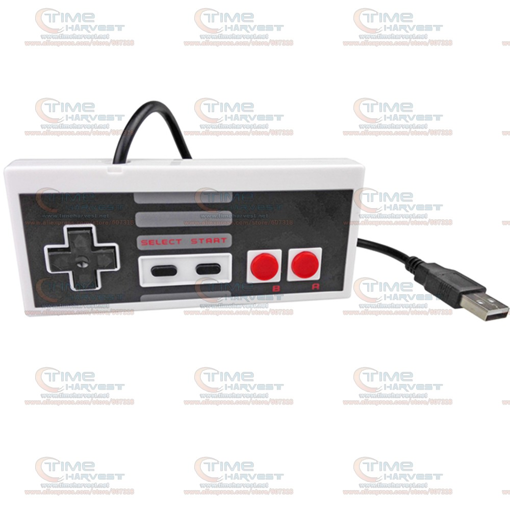 2 pcs Hot USB joypad Wired USB gamepad for NES FC PC MAC New Classic USB Controller Gami ...