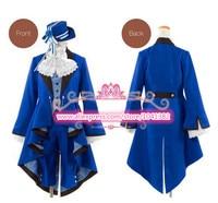 Black Butler Cosplay Ciel Phantomhive Birthday dress Cosplay Costume Suit Anime