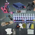 20 Color Tattoo Tip Kit Sets Coils Liner Machine Power Box Supply Needles Starter Permanent  Body  Makesup Kits