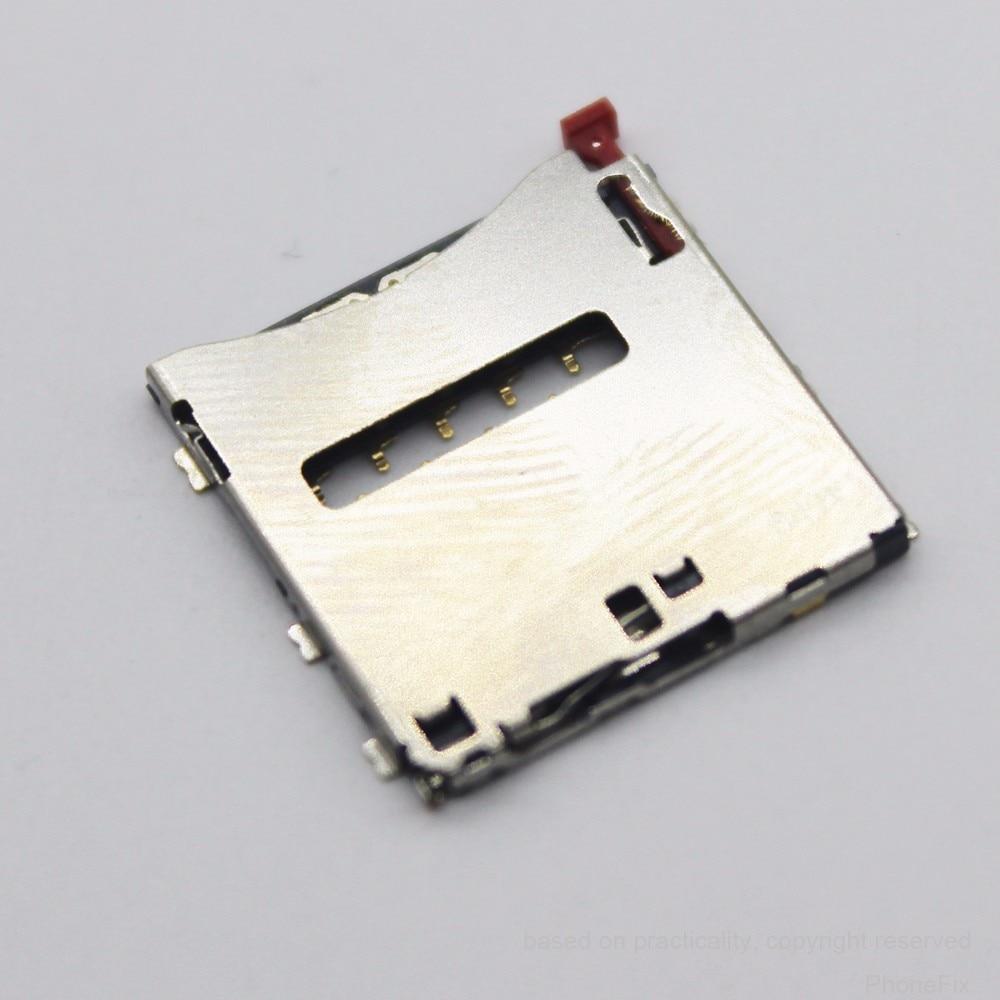 Sim Card Reader Tray Socket Holder For Sony Z1 L39h LT39i C6902 C6903 Z Ultra XL39H C6802 C6833 Z1 Compact D5503 M51W