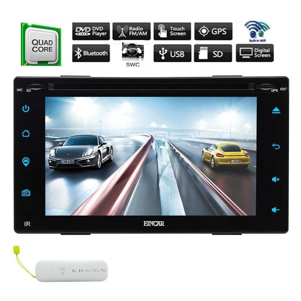 free 4G Android 6.0 Double 2 Din Car DVDGPS Navigation radio car DVD 4G Double 2Din Vehicle Radio Receiver WiFi Mirrorlink SWC