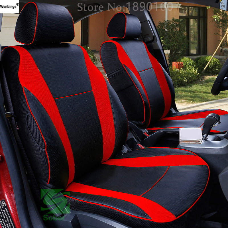 ( Wenbinge ) Special Leather Car Seat Covers For