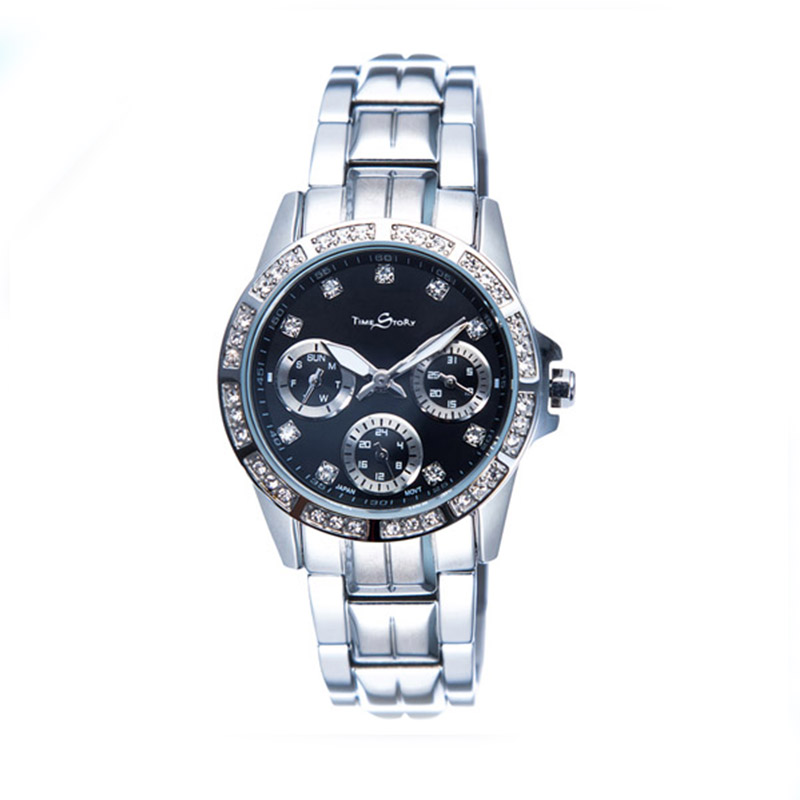 Women s Quartz Watch Counterclockwise Wrist Casual Simple Fashion Lady Luxury Brand Time Story Steel Luxury