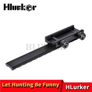"""Крепление для винтовки Hlurker AR15/M4/M16 плоское основание удлиненное крепление для Винтовки Пикатинни Вивера 20 мм 0,5 """"крепление для прицела"""