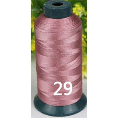 Hige vasthoudendheid nylon dikke Roze Shining naaigaren 2400 yards ...