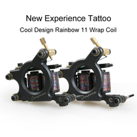 New Design 11 Wrap Coil Tattoo Machine Tattoo Gun Liner Shader Tattoo Machine Tattoo kit Supplies