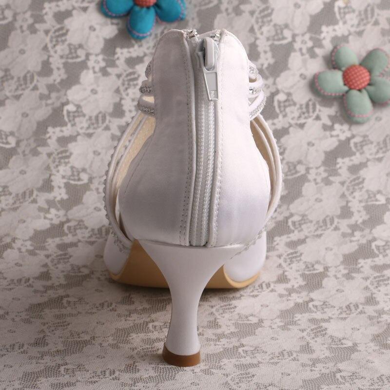 Orteils Femmes mint rouge Blanc blanc olive Fermé fuchsia Satin Pour Talon Green Mi Red Mariage Chaussures Nuptiales Citi wine blush navy Pompes Aqua Tendances De nude Blue qPqwT0R