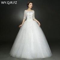 XXN030B # De nieuwe lente zomer 2017 wit rood lace up bruid Bruidsmeisjekleding goedkope groothandel plus size lange wedding prom jurk