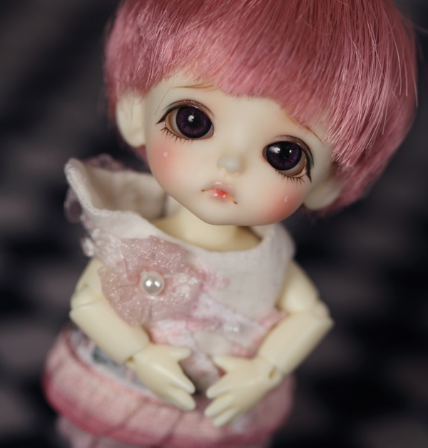 1/12 scale BJD about 10cm pop BJD/SD mini cute lati kid Belle Resin figure doll Model Toy gift.Not included Clothes,shoes,wig
