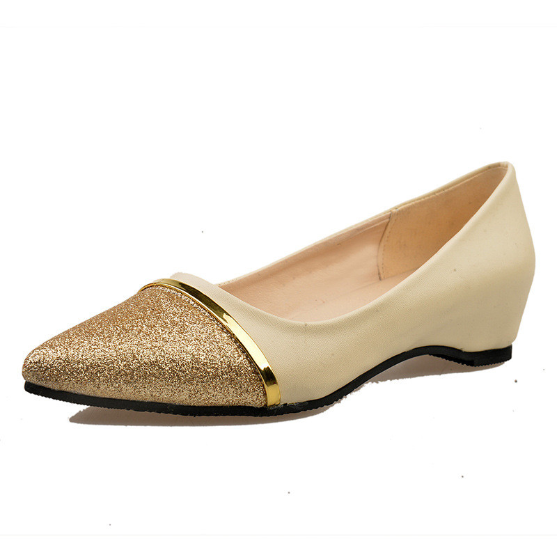 Fashion Women Shoes Pointed Toe Slip-On Flat Shoes Woman Comfortable Single Casual Flats Size 35-40 zapatos mujer fashion women shoes pointed toe slip on flat shoes woman comfortable single casual flats size 35 40 zapatos mujer
