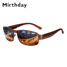 Mirthday Hot Sale Men's Polarized Sunglasses Male Metal Frame Car Driving Sun Gl