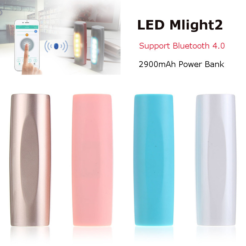 LED Music Melody Bluetooth Intelligent Night Light Temperature Monitor Call Reminder Colorful Smart Lamp 255 Levels Brightness