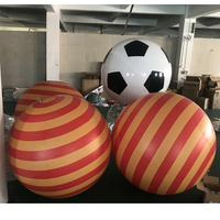 giant decoration balloon inflatable hall lobby mall screw Promotion Helium Balloon floating pvc peg top balloon