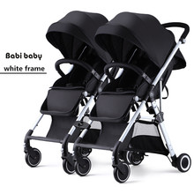 Hot selling twins stroller Folding Travel Stroller Baby Car For Two Babies Trolley China Push chair