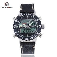 GOLDENHOUR высокого класса мужские часы повседневная часы производители прямых продаж