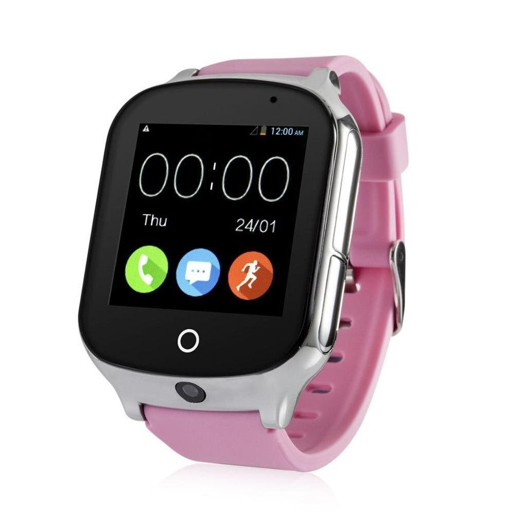 Reloj inteligente para niños Elder A19, reloj GPS con Android, dispositivo localizador antipérdida, Monitor de voz con cámara, reloj inteligente para bebés - 3