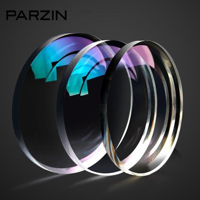 PARZIN 1.67 Aspherical lenses Myopia RX Glasses Anti-UV Optical Lens Eyewear Prescription Glasses Eyeglasses -0.25---10.00 L07