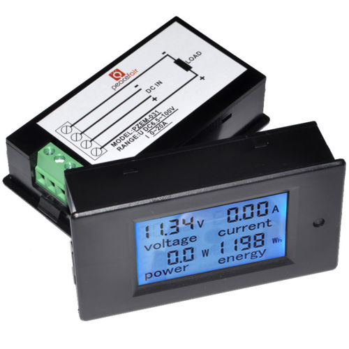 "TOP DC 3.5-30V 0.56/"" Waterproof Digital LED Voltmeter Volt Meter Panel Mount BBC"