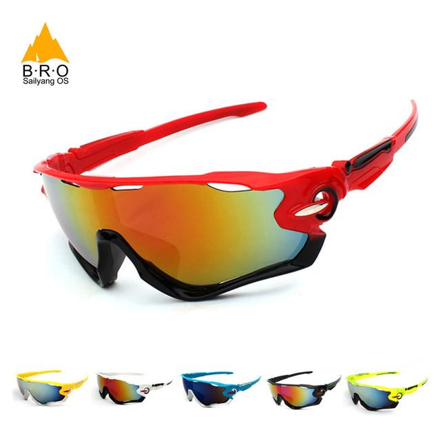 Glazen voor Rijden Anti-Explosie MTB Fiets Sport Goggles Eyewear Óculos Ciclismo Zonnebril voor Mannen Vrouwen
