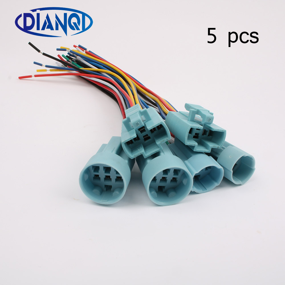 12mm 16mm 19mm 22mm Metal Push Button Wiring 2 6 Wires Cable For Switch Diagram 5 Pcs X Socket