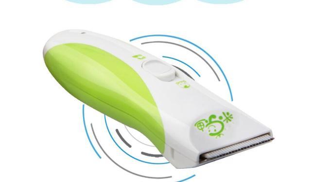 Infant lavable máquina de afeitar eléctrica barbero pelo adulto cortadora de cabello de cerámica hoja de bajo ruido a prueba de agua del bebé de corte de pelo corte cargador USB