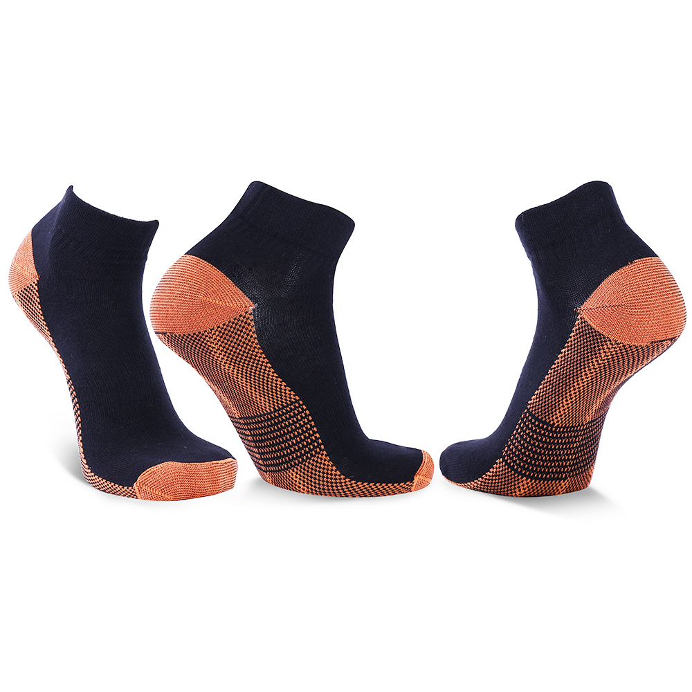 5 pairs Unisex Miracle Copper Compression   Socks   Anti Vein Professional Ankle Women Men   socks