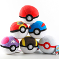 2017 the new 8CM Go Pokeball Plush Toy Keychain 8cm Gift Stuffed Toy Anime Plush Toy Children gift Retail Tag