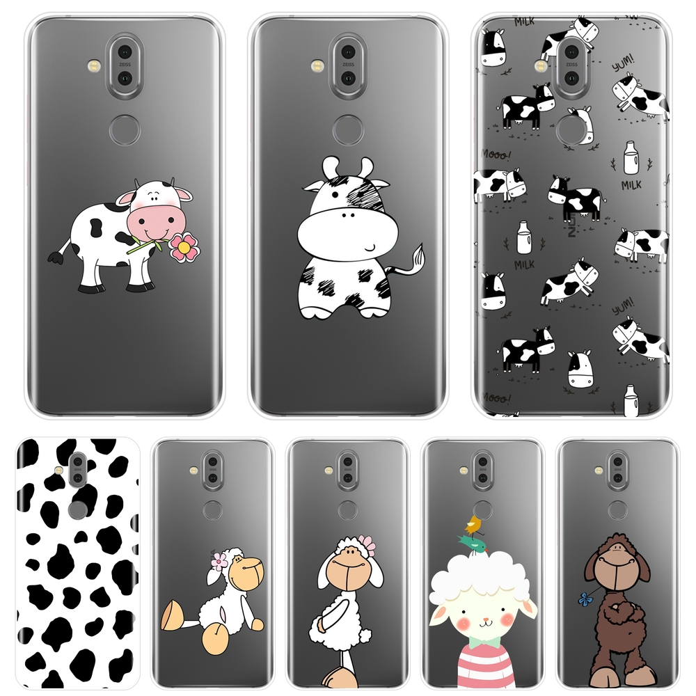 Cow Sheep Animal Goat Case For <font><b>Nokia</b></font> 2.1 3.1 5.1 <font><b>6.1</b></font> 7.1 Soft <font><b>Silicone</b></font> <font><b>Back</b></font> <font><b>Cover</b></font> For <font><b>Nokia</b></font> 2.1 3.1 5.1 <font><b>6.1</b></font> 7.1 <font><b>Plus</b></font> Phone Case image