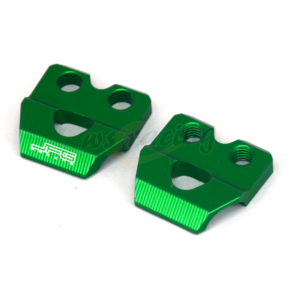 Motorcycle CNC Brake Line Hose Clamps Holder For KAWASAKI KX 65 80 85 100 KX125 KX250 KX250F KX450F KLX450R KLX125 D-Tracker125 cnc pivot foldable clutch brake lever for kawasaki kx125 kx250 kx 125 250 kx250f kx450f kxf 250 450 kd 200 220 kdx200 kdx220