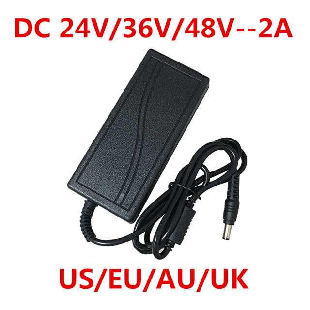1 шт. AC 100-240 В в DC 24 в 36 в 48 в 2A 2000 мА адаптер питания зарядное устройство конвертер для Светодиодный POE камера видеонаблюдения