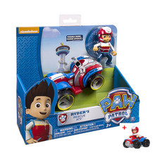 Genuine Paw Patrol dog Ryder captain vehicle Toy Patrulla Canina Action Figures Juguetes Patrol Canine toys стоимость
