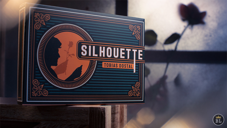 Silhouette (Gimmicks and Online Instructions) by Tobias Dostal,Original,Card Magic,Accessories Mentalism,Magic Trick,Gimmick