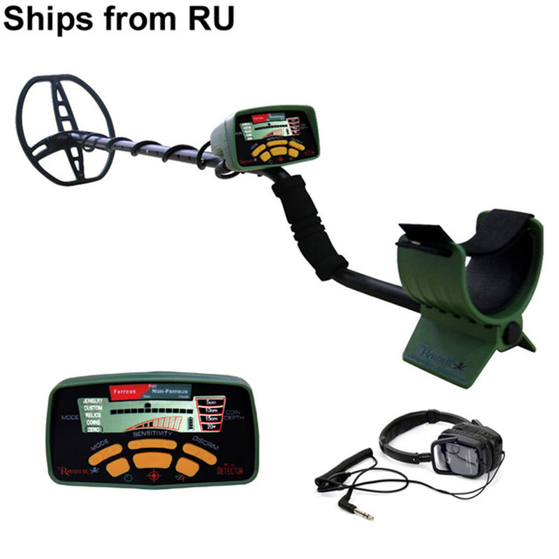 MD6350 Professional Underground Metal Detector DD Coil WaterProof Treasure Hunter All Metal Digger Coins Pinpointer Detecting