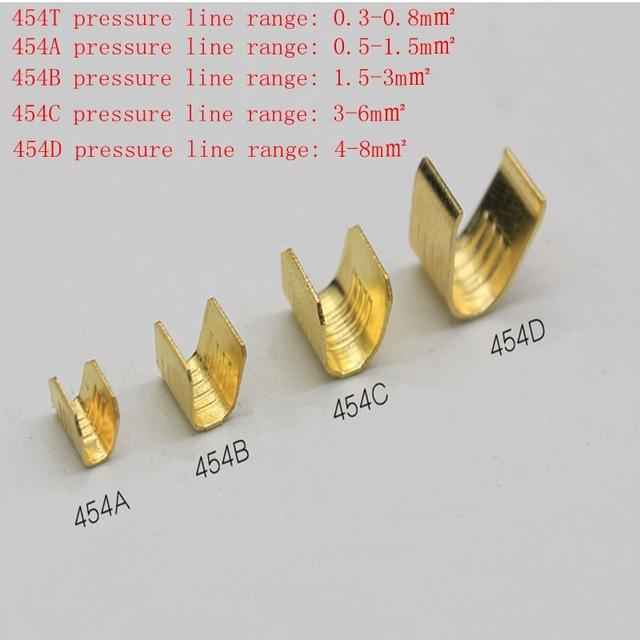 Crimping terminal u type copper wire clasps Crimping and wiring ...
