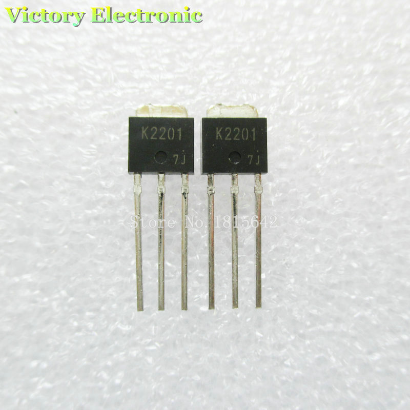 10PCS/Lot Original New K2201 2SK2201 TO-251 Field Effect Transistor Wholesale Electronic