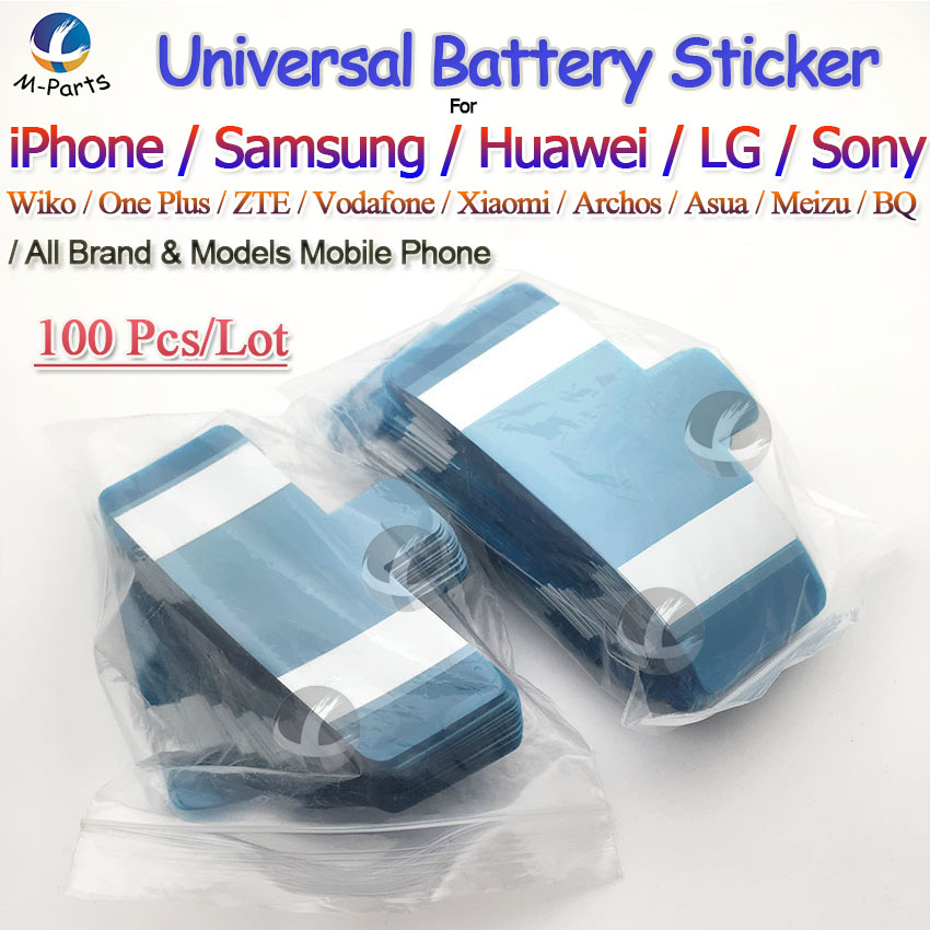 Universal Battery Adhesive Sticker For IPhone Samsung Huawei Etc All Mobile Phone Easy To Pull Trackless Tape Strip Factory Sale